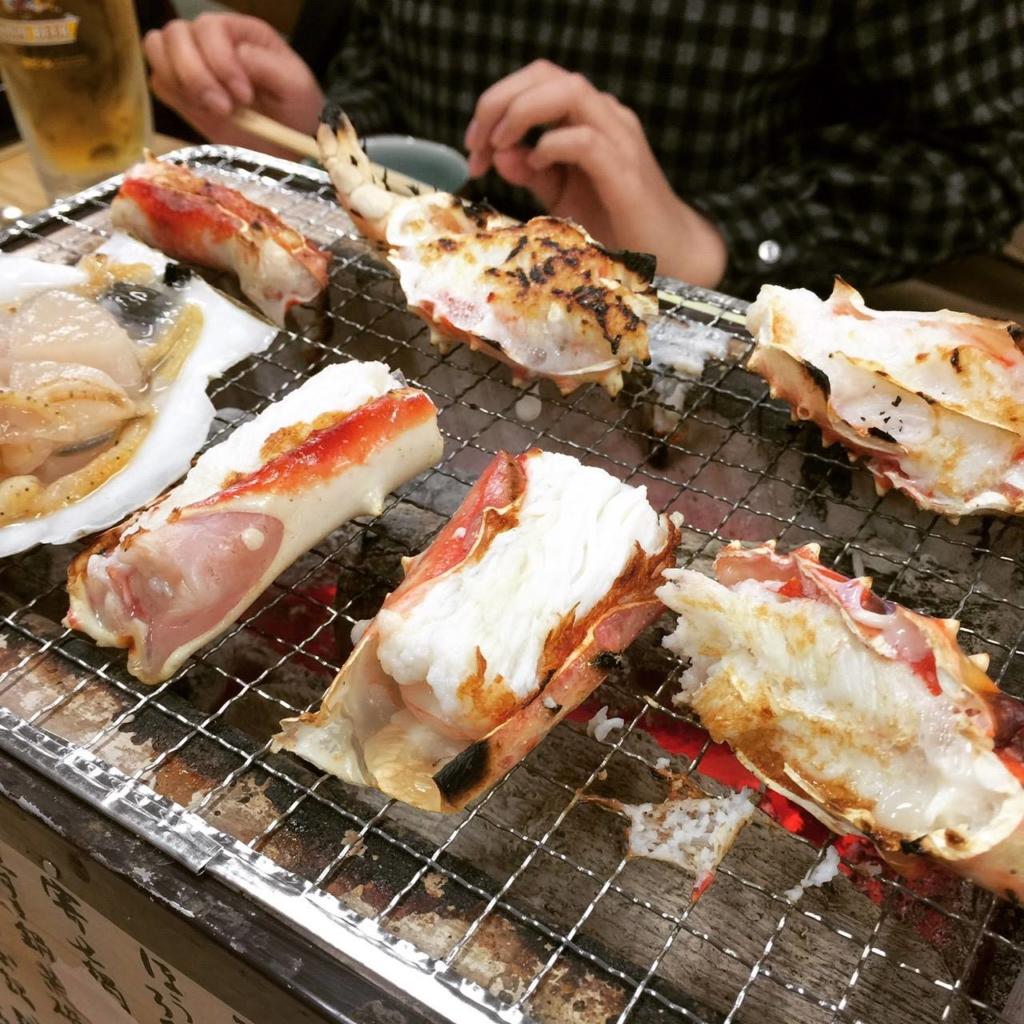 日本酒にぴったりな蟹